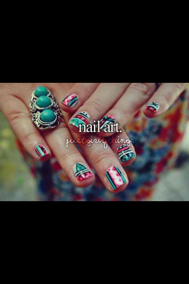 Nail art | Just Girly things and quotes:) | Pinterest