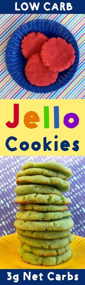 Jello cookies are hella weird. But in a good way. This recipe is Low Carb, Keto, Paleo, Atkins, THM, Sugar Free and Gluten Free.