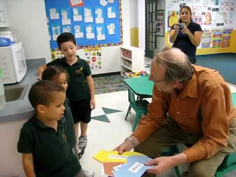 05/15/09 Visit to VIP Kids preschool. spontaneus talk. Dr Davis Perkins on his visit to one Education First Inc pre-schools. He is talking with 4 years old c...