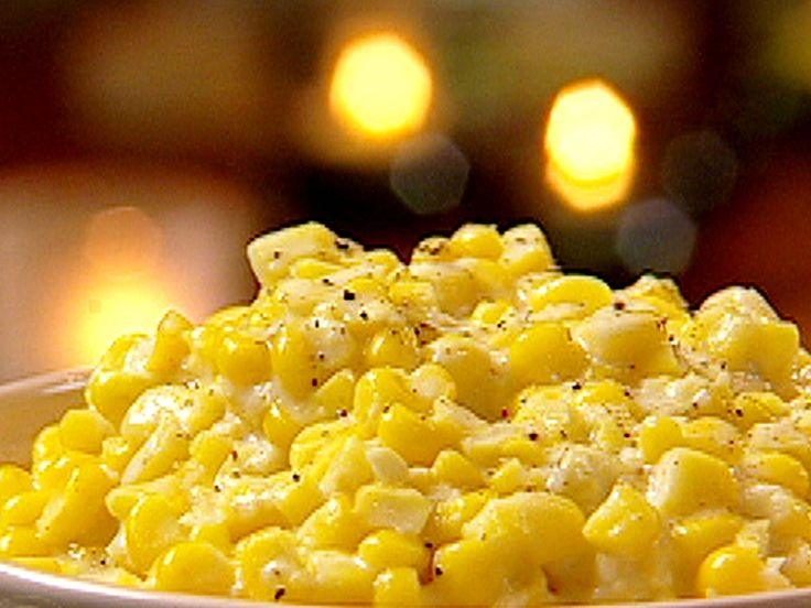 Southern Creamed Corn recipe from Patrick and Gina Neely via Food Network