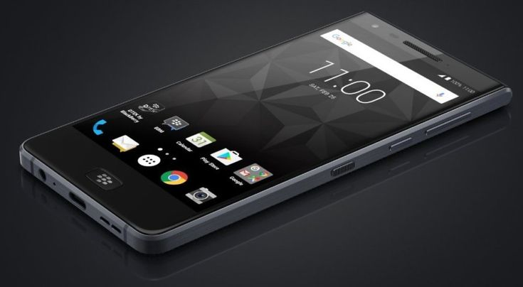 All-touchscreen BlackBerry Motion announced with IP67 rating and a 4000 mAh battery
