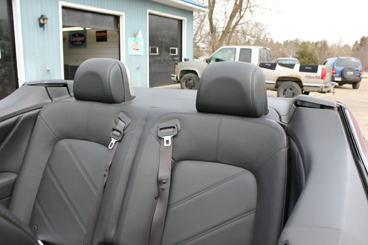 Spacious backseat; big trunk for a convertible; commanding driving position - fully loaded all-wheel-drive!