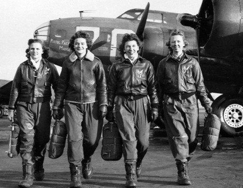 Pilotos Mujeres de la Fuerza Aérea de los Estados Unidos en la Segunda Guerra Mundial