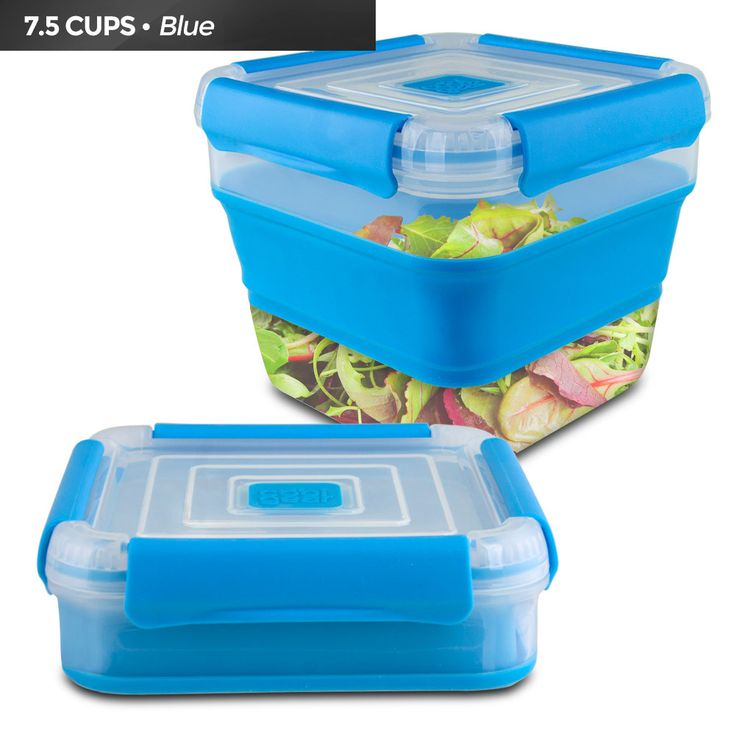 Cool Gear Collapsible Storage Box 1711 Blue