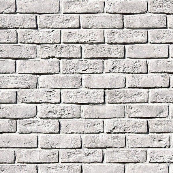 Искусственный камень White Hills Кельн Брик 320-00 белый