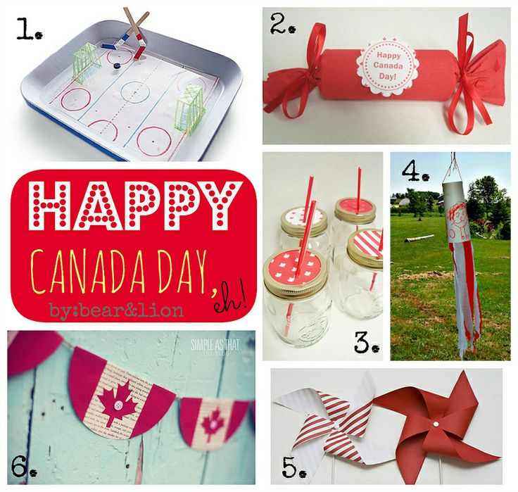 CANADA DAY crafts!