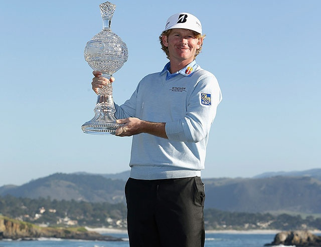 SNEDS wins the AT Pebble Beach Golf Tournament