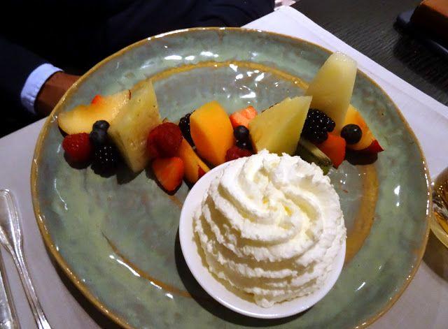 Desserts at Glashaus Restaurant & Bar, Hyatt Regency Cologne Hotel