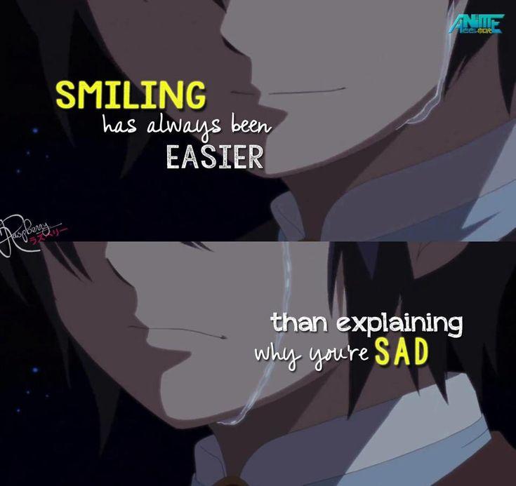 So True! I feel like that sometimes!  Anime: the world still beautiful