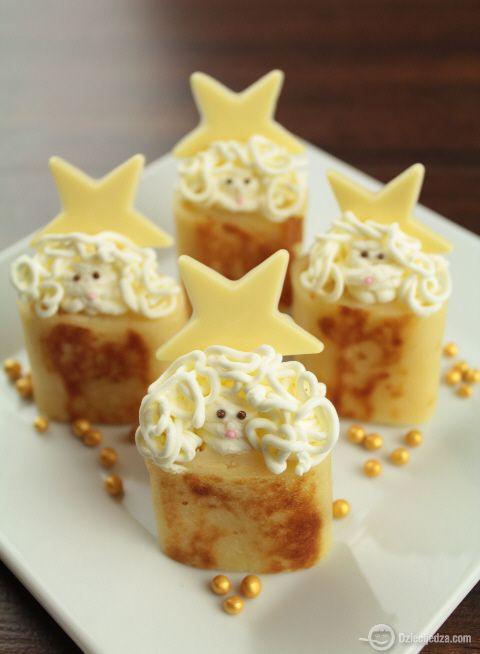 Anioły (food for kids)  http://www.dziecijedza.com/2012/12/27/chory-anielskie/