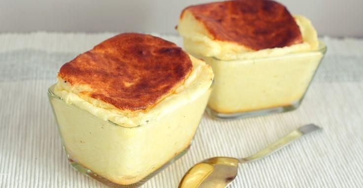 Простой способ приготовить сырное суфле. Для истинных любителей сыра!