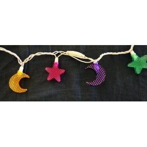 Ramadan / Eid Moons and Stars Light String