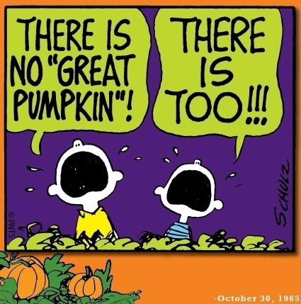 Halloween Peanuts cartoon via www.Facebook.com/Snoopy