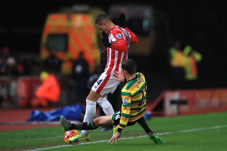 Stoke City 3-1 Norwich City: O'Neil Sees Red As A Hotly Contested Game Heats Up A Cold Night In Stoke - Premier League Preview