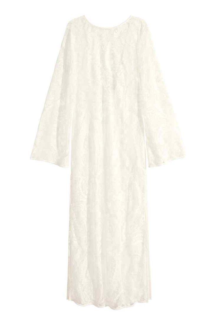 Dlhé čipkové šaty | H&M