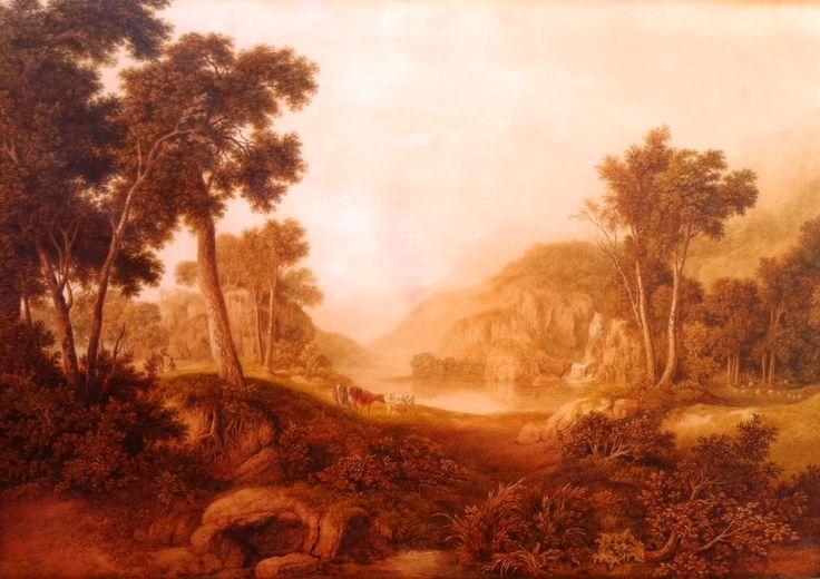 A Glover, an historic Australian painting