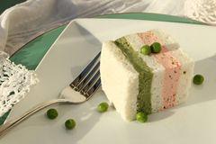 Gluten-Free Sweet Pea and Salmon Terrine