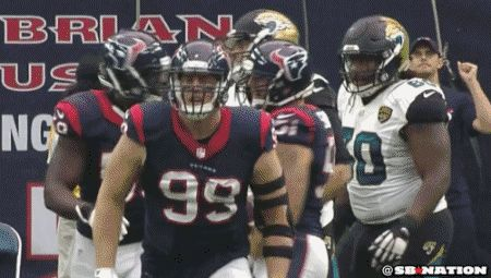 J.J. Watt did every possible celebration dance at once after a sack - CBSSports.com