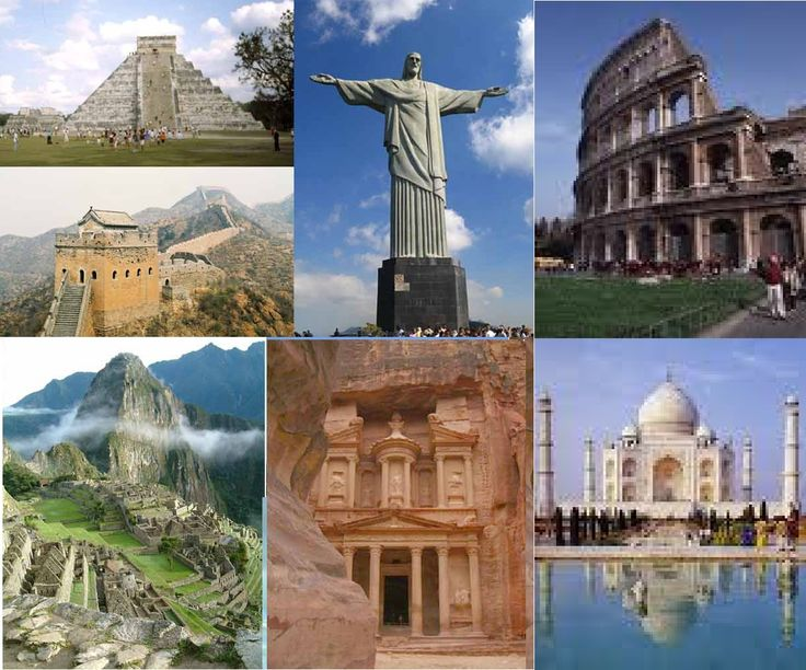THE SEVEN WONDERS OF THE WORLD!!!!!!!!!!!!!!!!