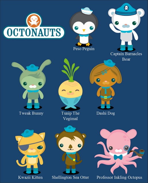 Candid image pertaining to octonauts printable