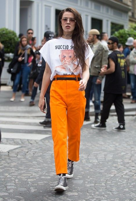 Pantalon - yellow