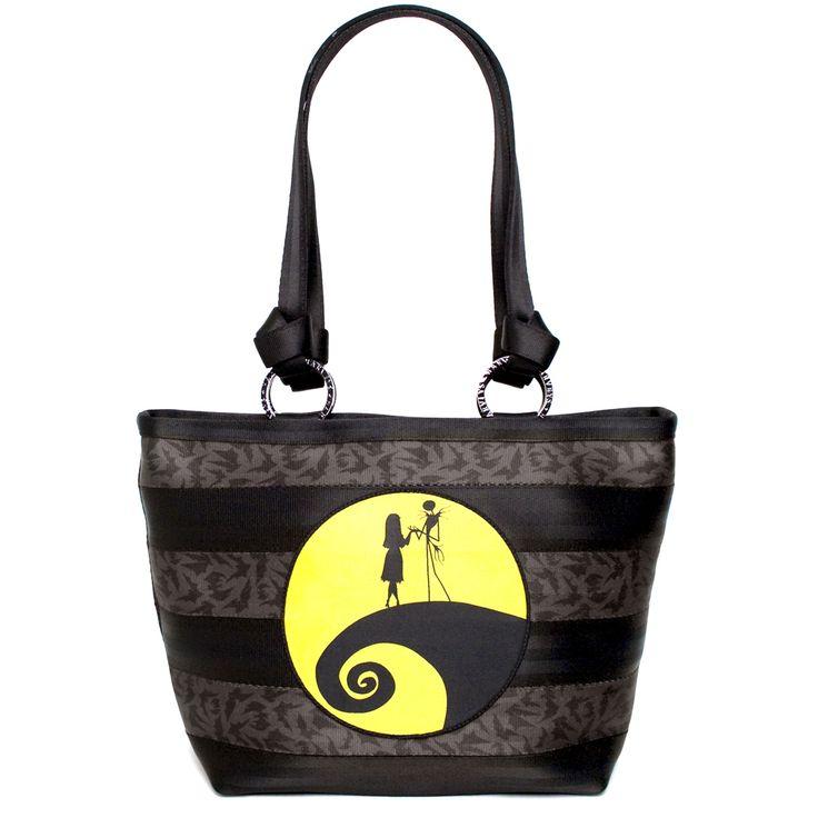 Disney Nightmare Before Christmas Moonlight Carriage Ring Tote @Harveys Orginal Seatbeltbag    #madeintheusa