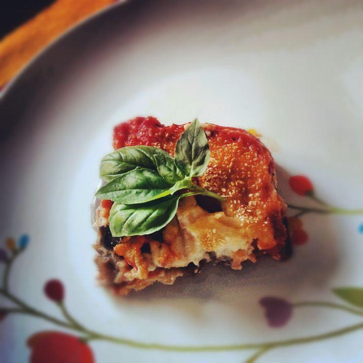"""Parmigiana"" di melanzane vegan"