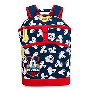 Mickey Mouse Backpack - Personalizable | Disney Store Mickey Mouse makes everything more fun, and now your little one can personalize his or her own backpack featuring the many expressions of Mickey! Comfortable straps and plenty of room make it perfect for an adventurer on the go.