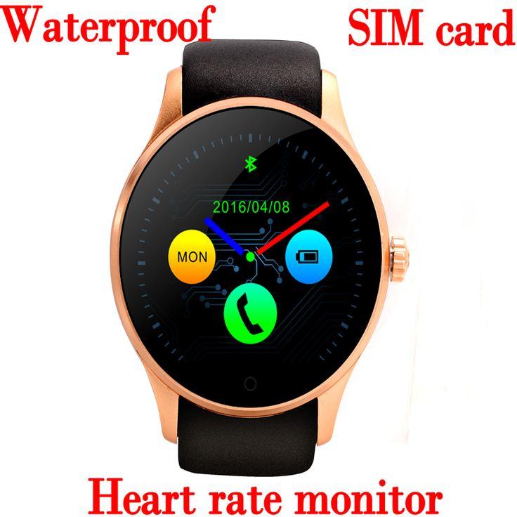 Cheap Impermeable del deporte bluetooth inteligente portátil de la salud dispositivos electrónicos reloj para apple samsung gear del ritmo cardíaco relojes inteligentes, Compro Calidad Smart Watches directamente de los surtidores de China:             Dispositivos electrónicos portátiles inteligentes Bluetooth impermeable deporte reloj para Apple Samsung Gea