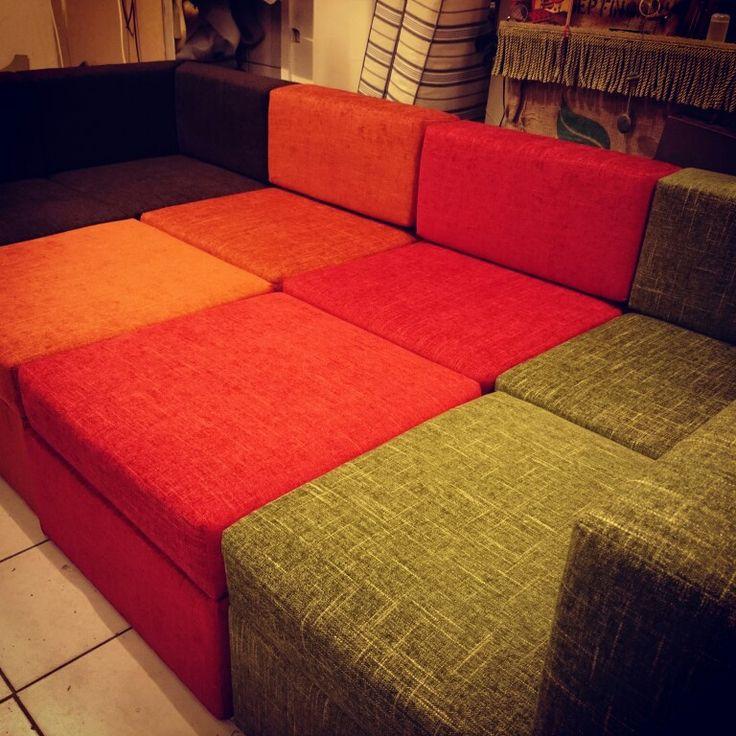 Variálható retro kanapé