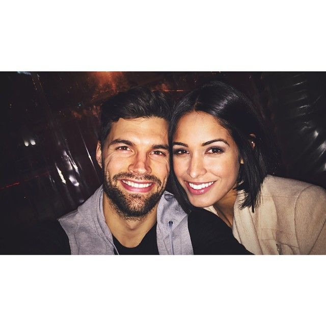 Joel Smallbone (from for king and country) with wife