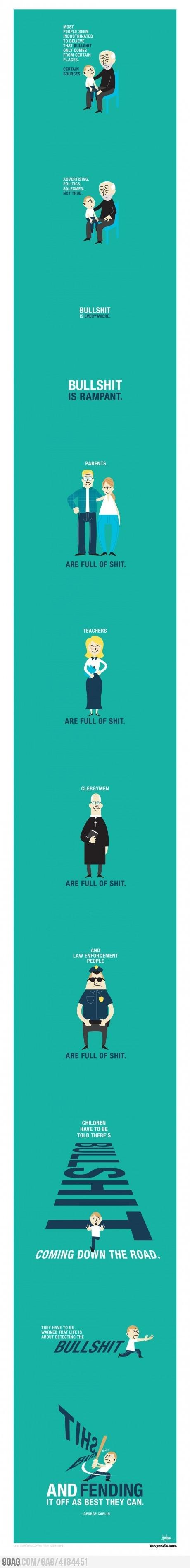 Just George Carlin...