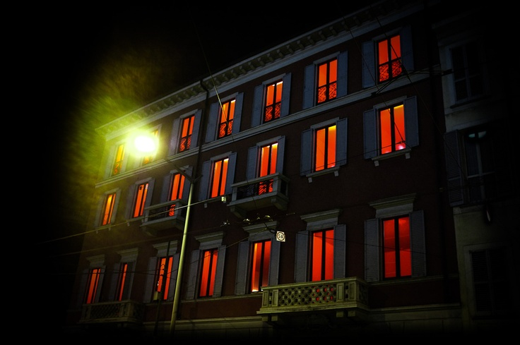 The House with red eyes.    S.