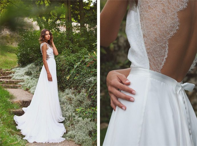 Adeline Bauwin   Robe de mariée: Rose   Crédits: Studio Ohlala   Donne-moi ta main - Blog mariage