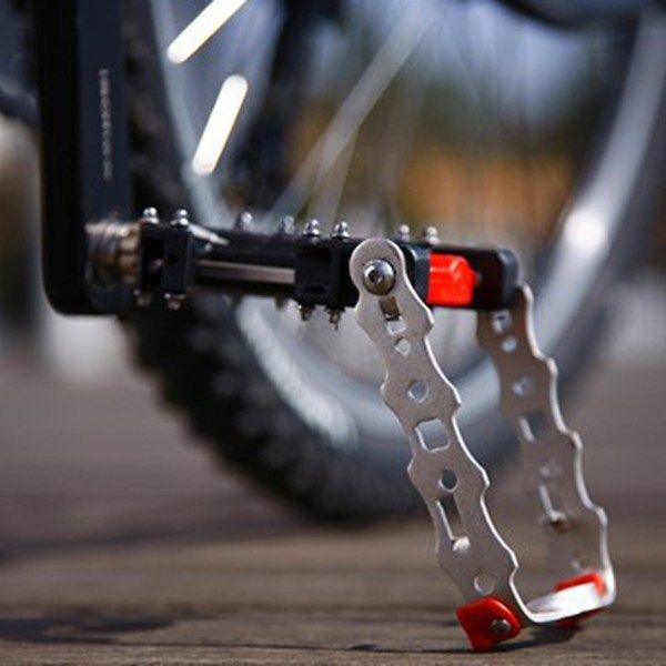 Bv Bicycle Pedal Kickstand 2 In 1 Alloy Pedals Mountain Bike