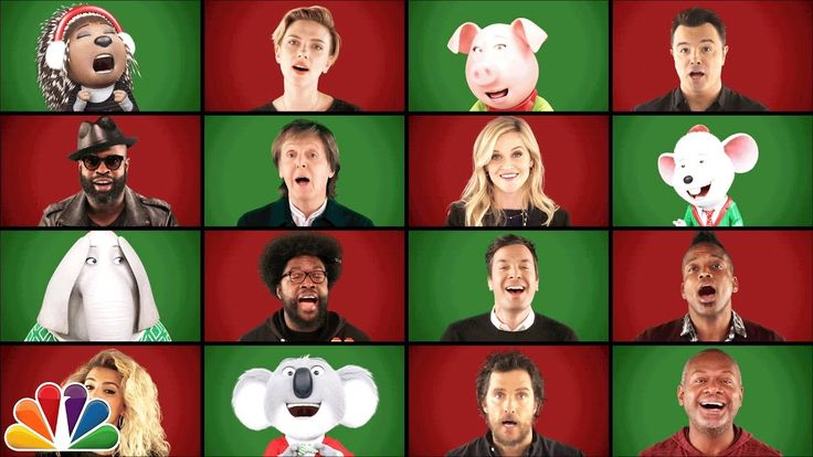 Jimmy Fallon, Paul McCartney, and the 'Sing' Cast Perform 'Wonderful Christmastime' A Cappella