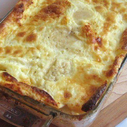 ΣΟΥΦΛΕ με τυριά και γιαούρτι