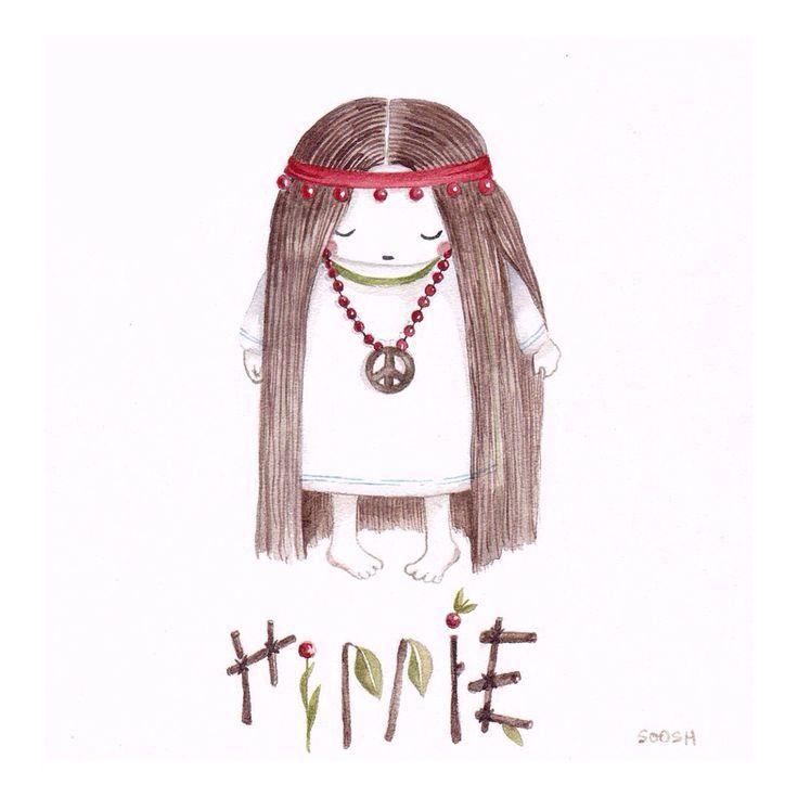 • hippie •