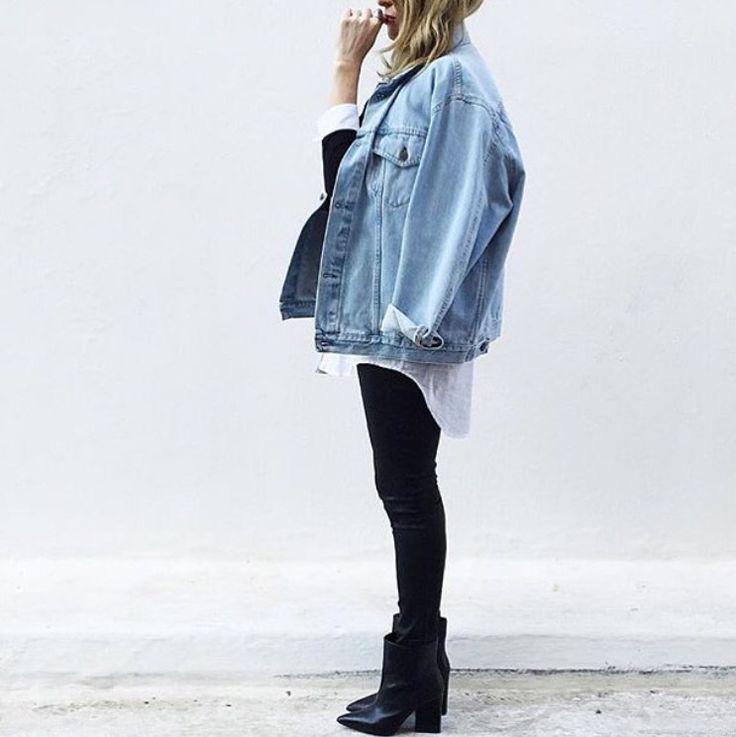 Denim jacket | Style | Pinterest