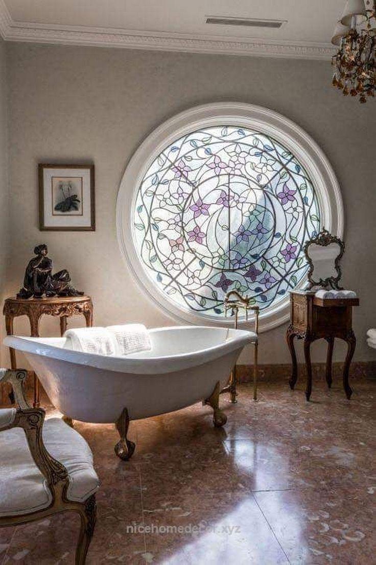 Badezimmer-Fensterbedeckungs-Ideen, die Sie einfach auf selbst handhaben können