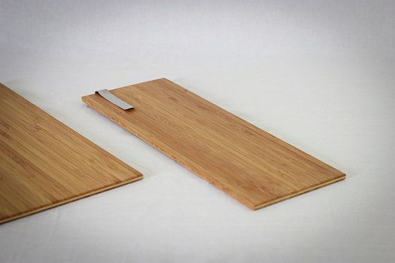 Bamboo wood menu board or clip board by TYSONN on Etsy