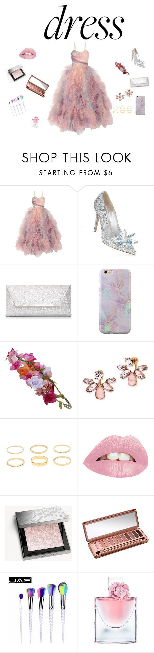 """""""mimio"""" by yesica-rey on Polyvore featuring moda, Marchesa, Dorothy Perkins, Accessorize, Burberry, Urban Decay y Lancôme"""