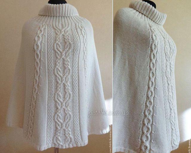 Poncho Crochet avec des conseils de recettes et - Patterns Knitting Yarn