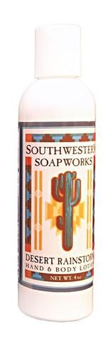 Choose from these delightful Southwest scents, each in a 4-oz bottle:  Cedar and Sage: An earthy blend of fragrances from the high mountain woods of the Southwest Desert Rainstorm: A light, clean fragrance that both men and women enjoy Eucalyptus and Aloe: The rich, soothing fragrance of eucalyptus without the medicinal smell, plus the added conditioning of aloe Lavender and Sweetgrass: Combines the relaxing fragrance of lavender and the unforgettable scent of sweetgrass