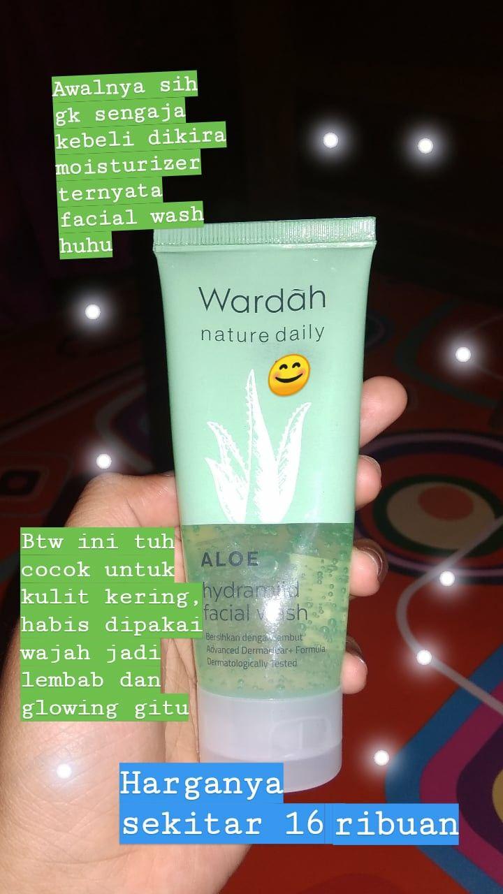Review Wardah Aloe Vera Face Wash Untuk Kulit Berjerawat