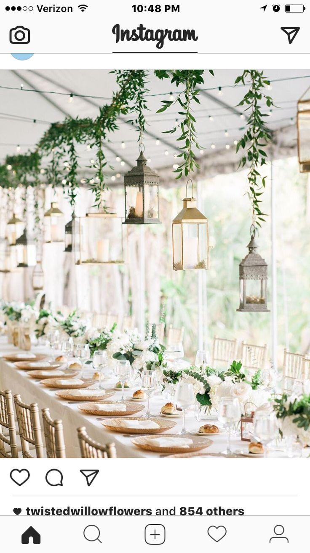 Wedding decorations for hall january 2019  best wedding decor images on Pinterest  Wedding ideas Green