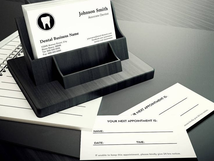 medical appointment cards templates