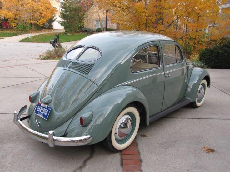 39 52 volkswagen beetle split window coupe ebay for 1951 volkswagen split window