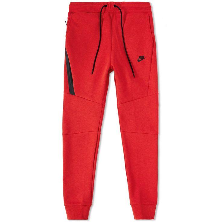 nike tech fleece jogger | Nike Tech Fleece Jogger (University Red Heather & Black)