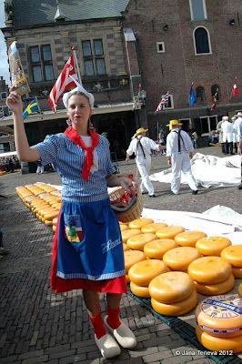 Alkmaar cheese market, The Netherlands